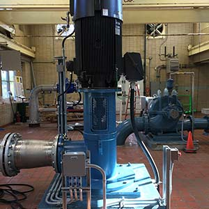 Cornwall WTP High Lift Pump 4